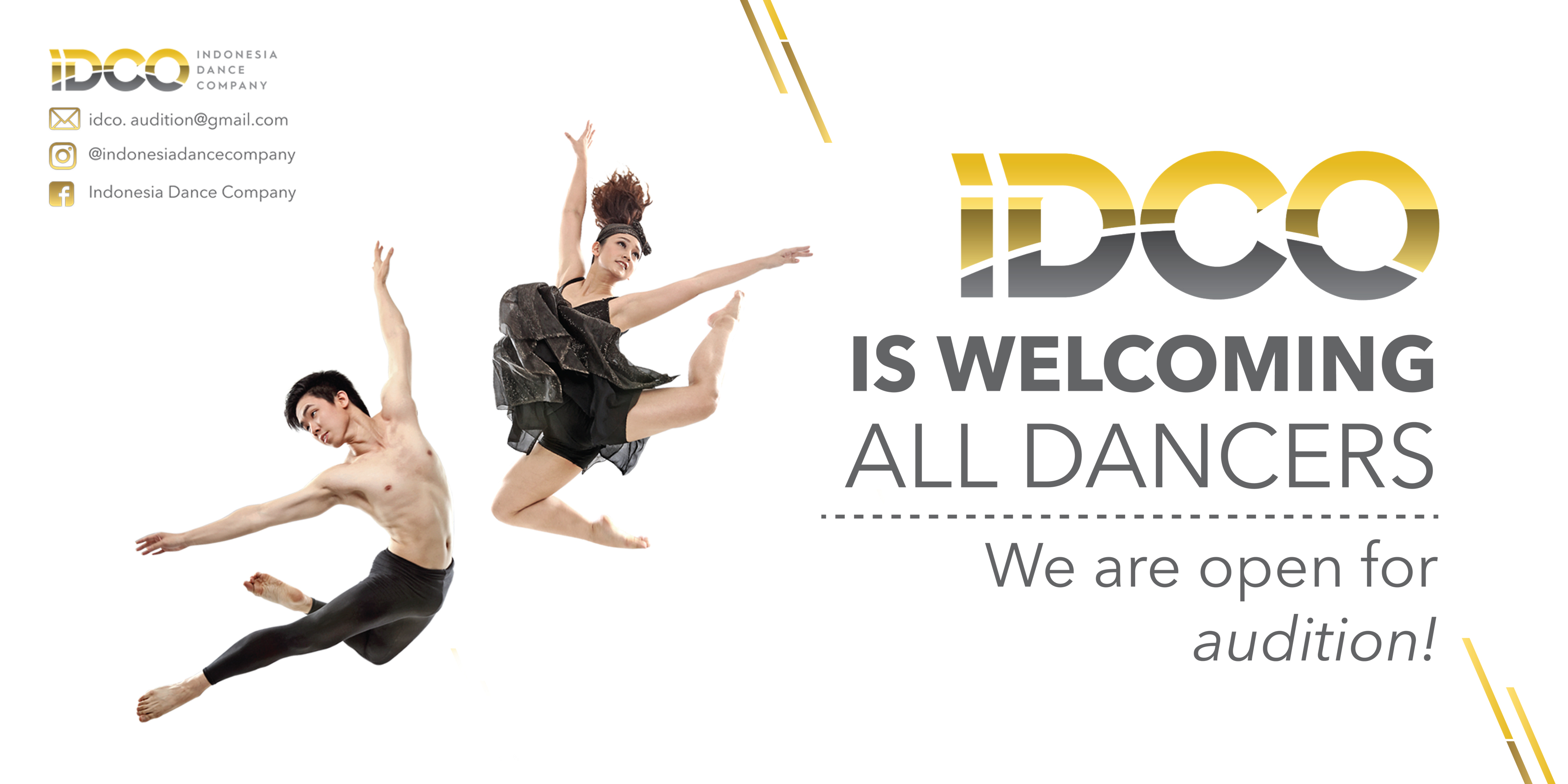 Indonesia Dance Company - Audition 2017