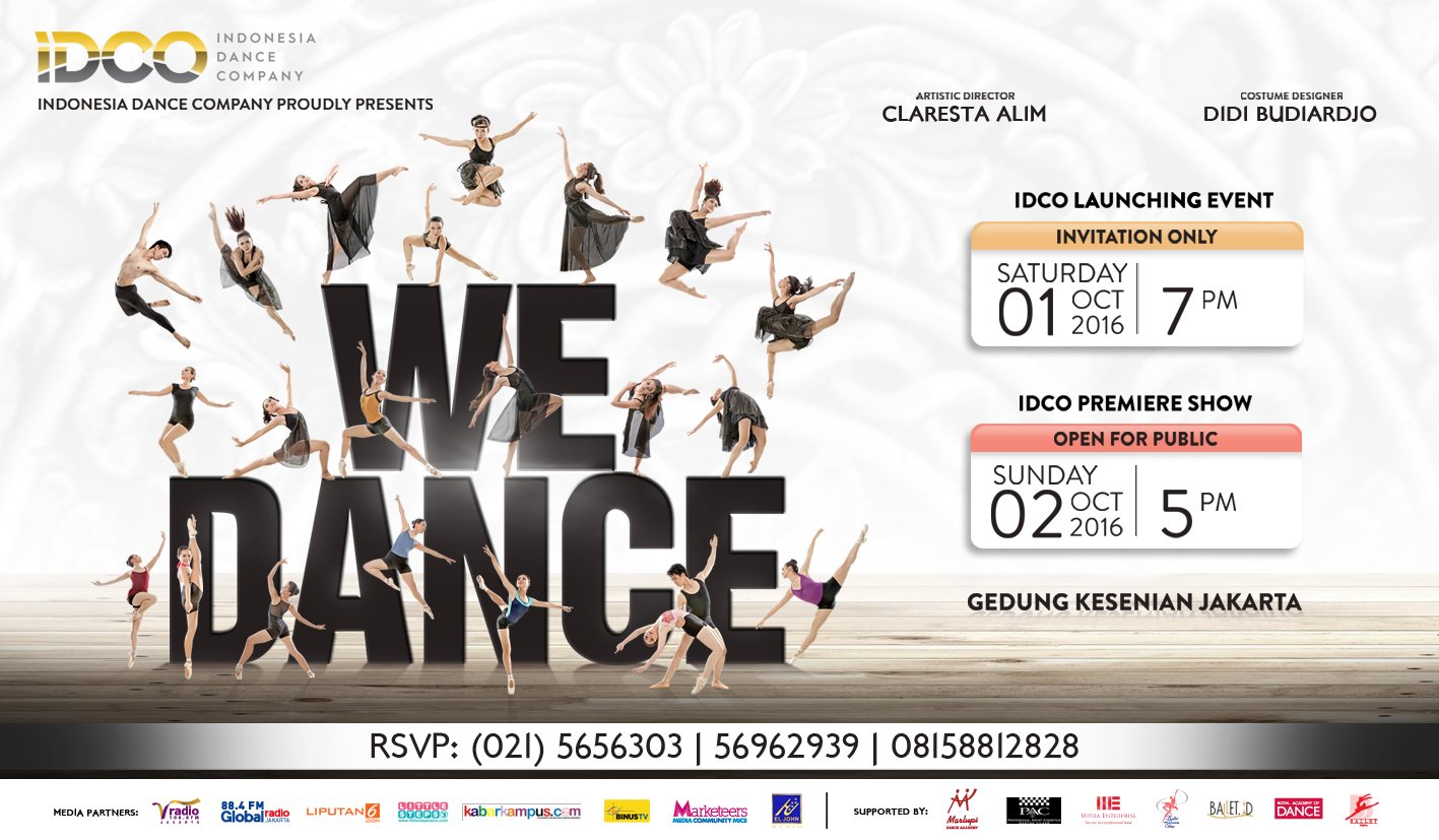 Indonesia Dance Company - Premiere Show - We Dance